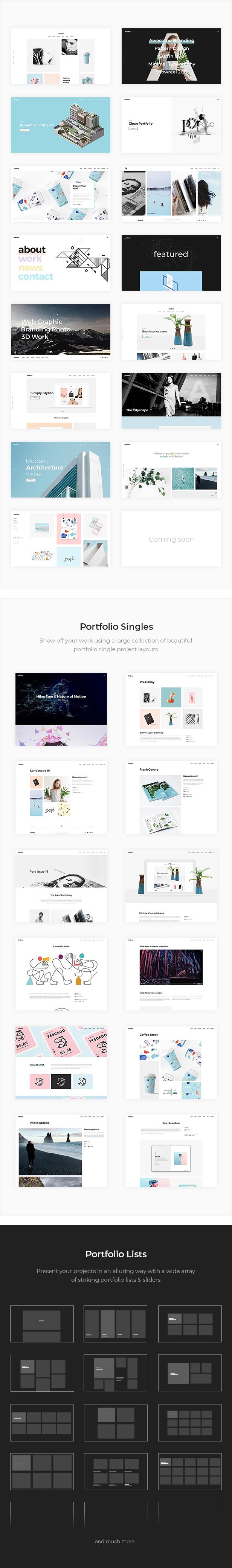 Anders - Design Portfolio Theme - 2