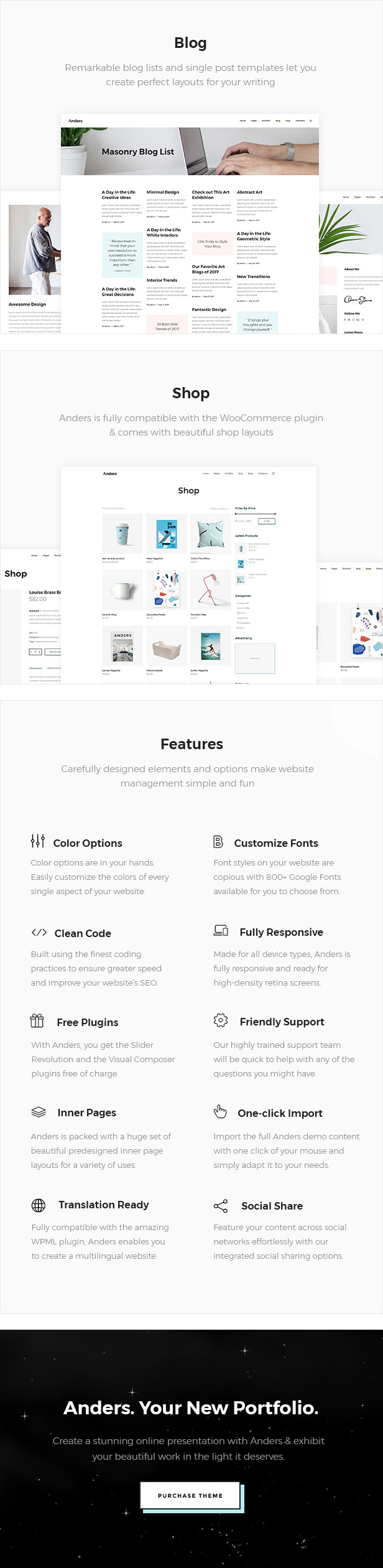 Anders - Clean Portfolio Theme - 4  Download Anders – Clean Portfolio Theme nulled 04b